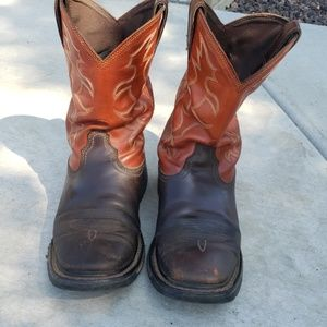 Ariat mens square toe boots